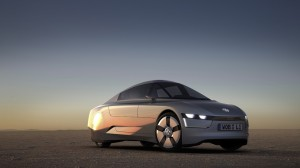 VW showed this concept of a 1 liter vehicle at the Frankfurt auto show in 2009