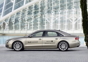 Audi A8 L with LTE.automotiveIT