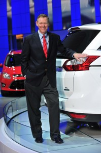 Ford's Alan Mulally at NAIAS.automotiveIT