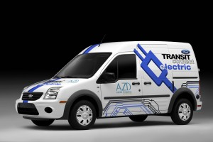 2011 Ford Transit Connect Electric.automotiveIT