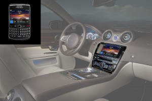 Jaguar XJ BlackBerry integration