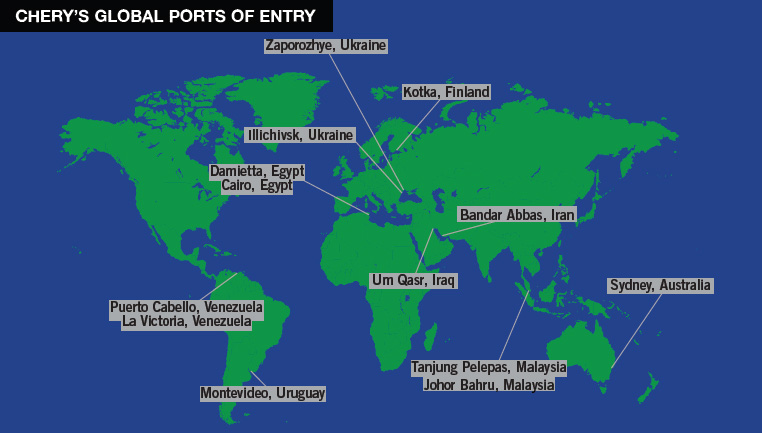 chery-ports