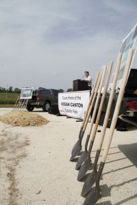 Nissan and Gov. Bryant Break Ground on Supplier Park Supporting Jobs and Manufacturing Growth