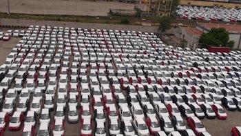 Hyundai lot @ Chennai Port1