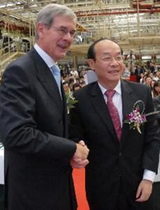 Phillipe Varin and Xu Ping