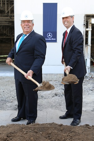 Mercedes-Benz Usa Begins Construction On New 1.1mm Square Foot W