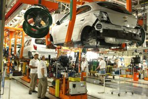 A atual capacidade produtiva do complexo industrial da GM em Gra