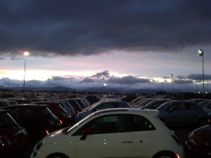 cars and cloud