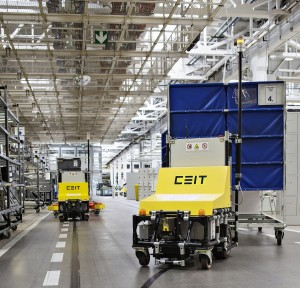 Skoda automatic warehouse lift