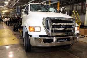 Production Kicks Off for Ford Motor Company's New 2012 F-650