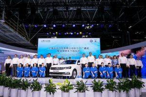 Volkswagen eroeffnet Fahrzeugwerk im suedchinesischen Changsha