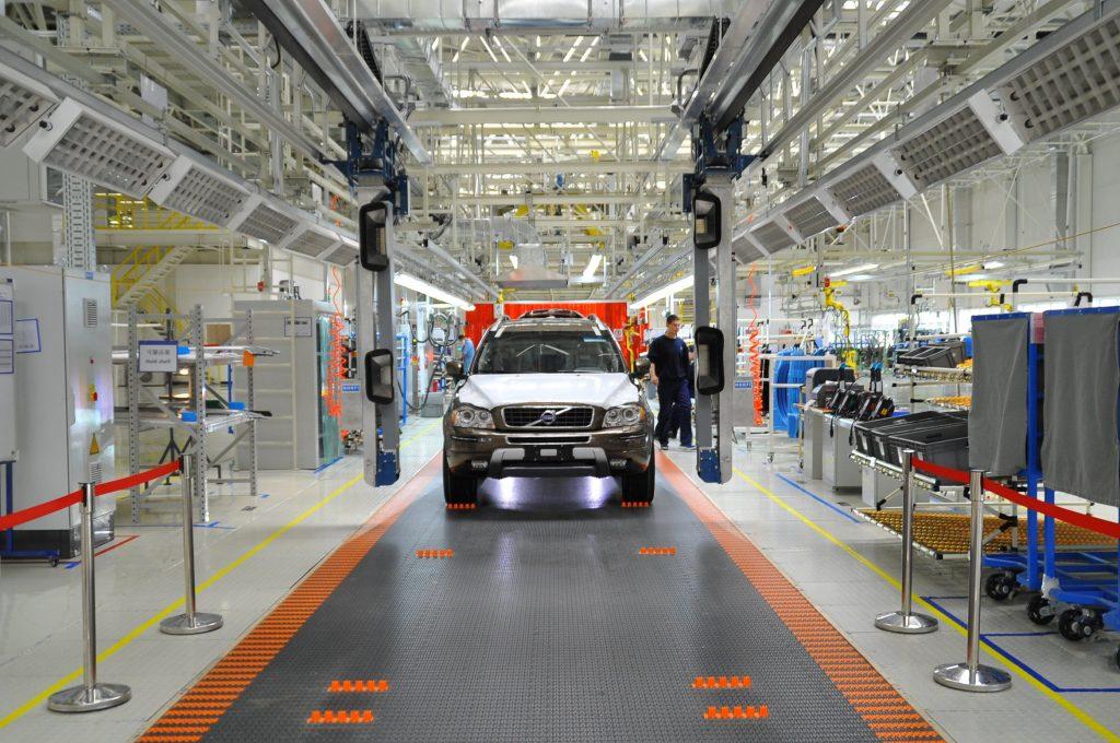 Volvo manufacturing plant Daqing, China