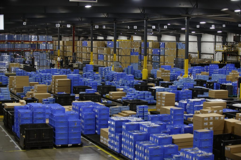 Honda warehouse