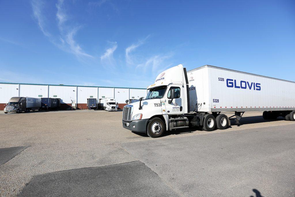 HYUNDAI GLOVIS Truck in USA