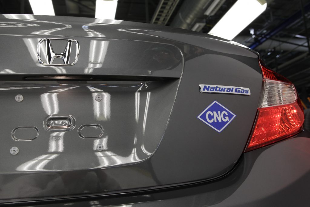 All-new 2012 Civic Natural Gas