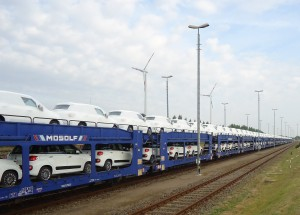 Mosolf automotive railway