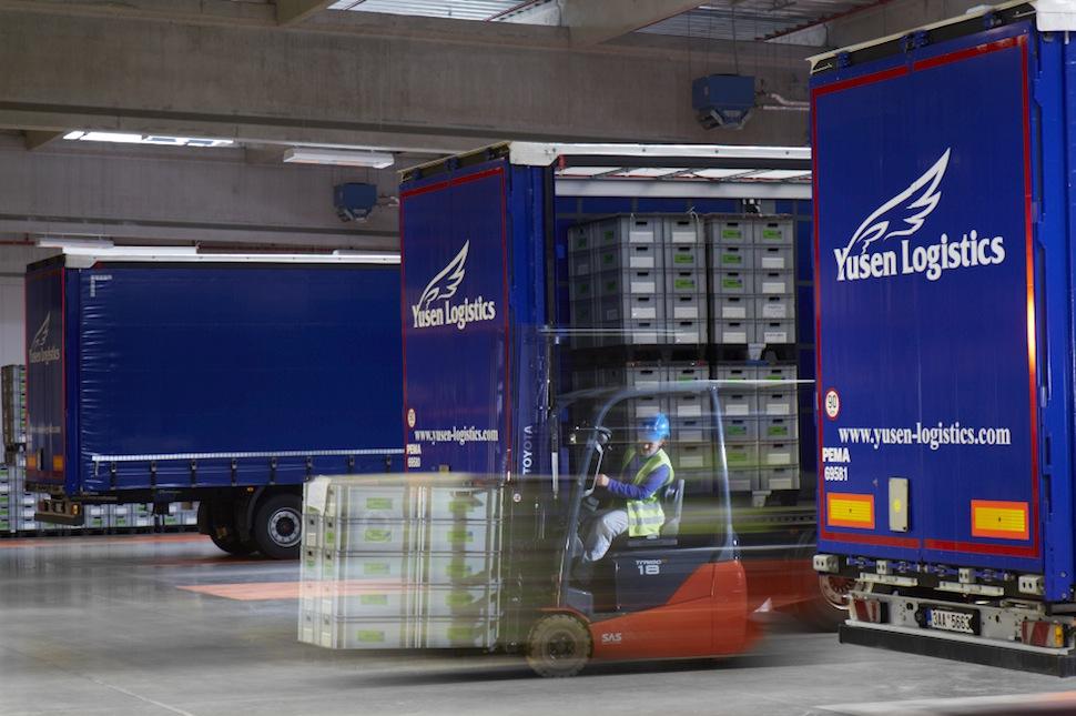 Yusen Logistics warehouse