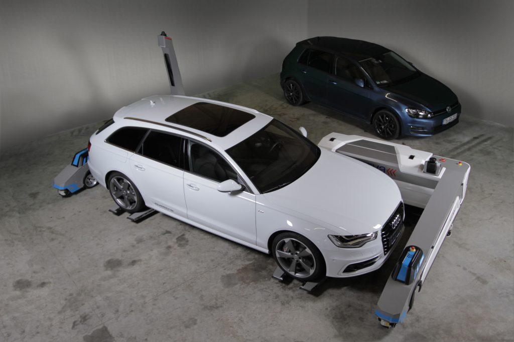 Audi Ray robots