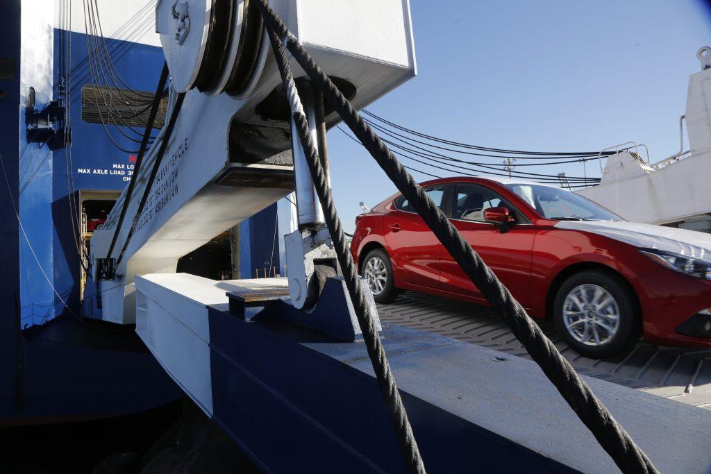 Tacoma Mazda offload