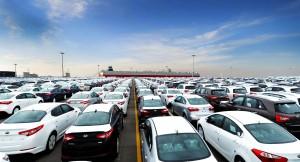 South Korea port cars