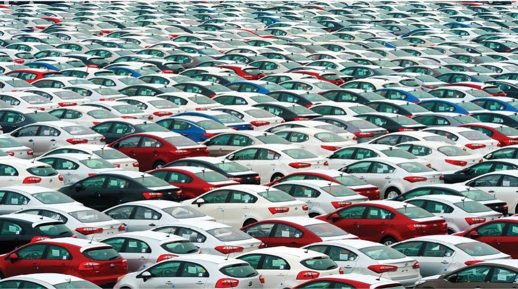 5. Pile of cars South Korea