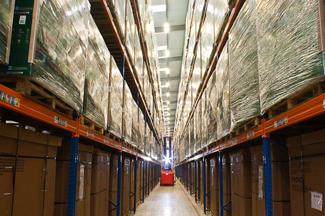 Europa Birmingham warehouse