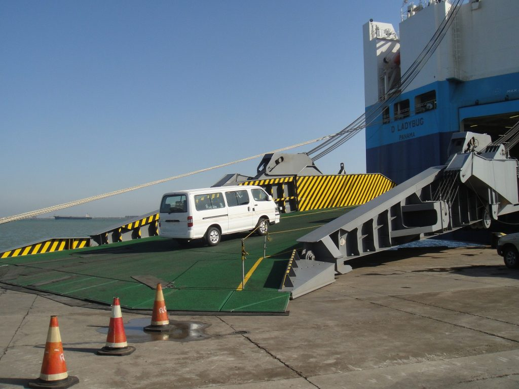 Tianjin FVL loading
