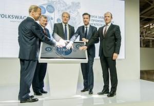 Volkswagen Konzern erˆffnet eigenes Motorenwerk in Russland