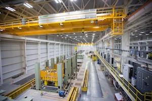 GM's Lansing Plant Receives Stamping Presses