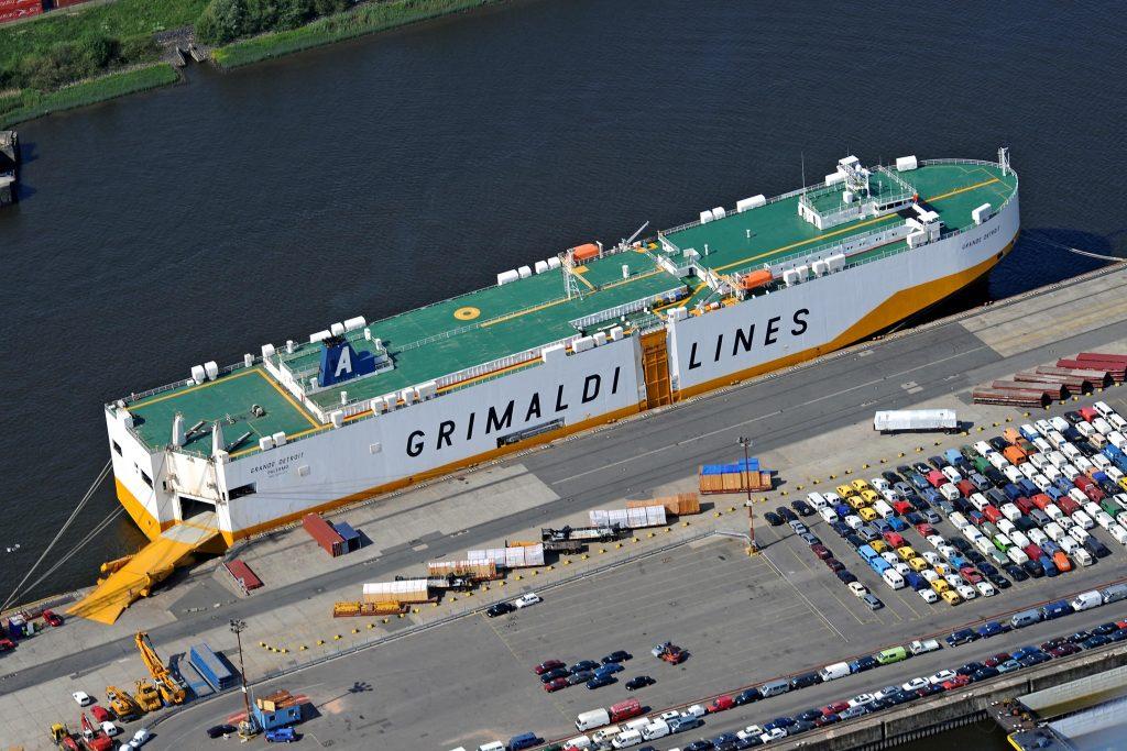 Grimaldi ship