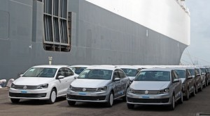 Made in India Volkswagen get shipped