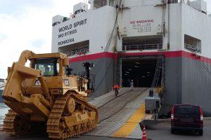 Euro Marine Logistics' World Spirit
