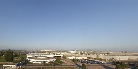 Zaragoza plant aerial view