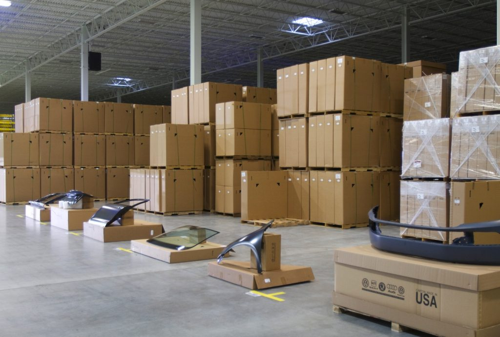 Warehouse packaging