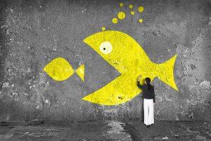 Consolidation - Big fish small fish