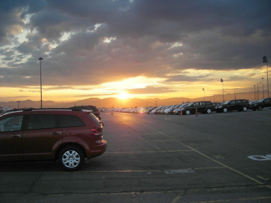 Fiat Chrysler Automobiles FCA sunset