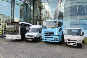 Daimler-Nutzfahrzeuge f¸r S¸dostasien // Daimler commercial veh