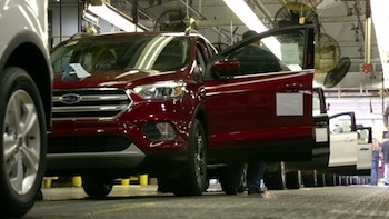 Production of the new 2017 Ford Escape is under way at Louisville Assembly Plant in Kentucky, with emphasis on maintaining the quality that made the vehicle an award-winner last year.