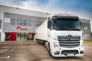 Großauftrag von Girteka Logistics über 1.000 Mercedes-Benz Actros // Major order of 1,000 Mercedes-Benz Actros by Girteka Logistics