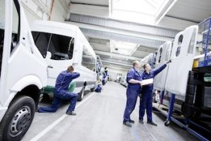 Mercedes-Benz Sprinter Minibusse, Produktion, Werk Dortmund