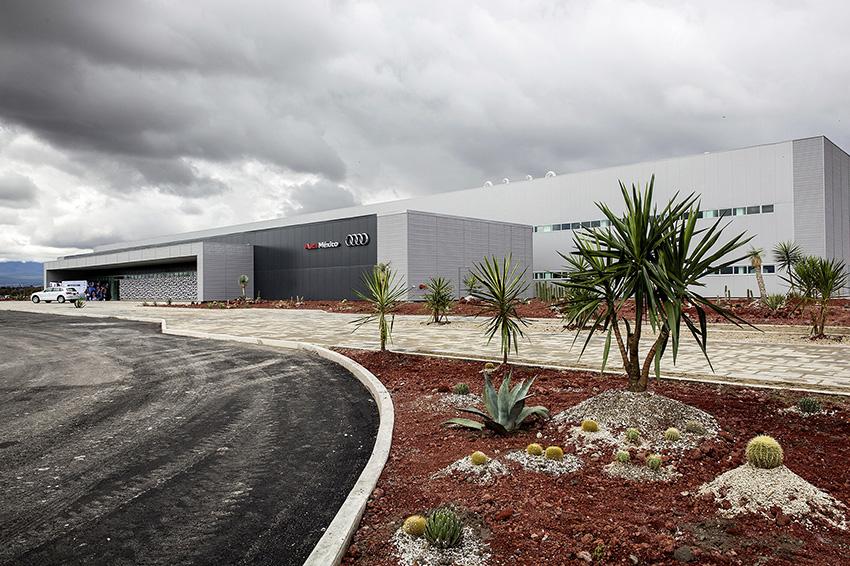 Audi México Training Center in San José Chiapa