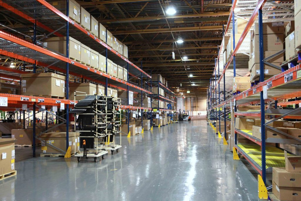 Mokka Overseas Warehouse combined with kitting areas