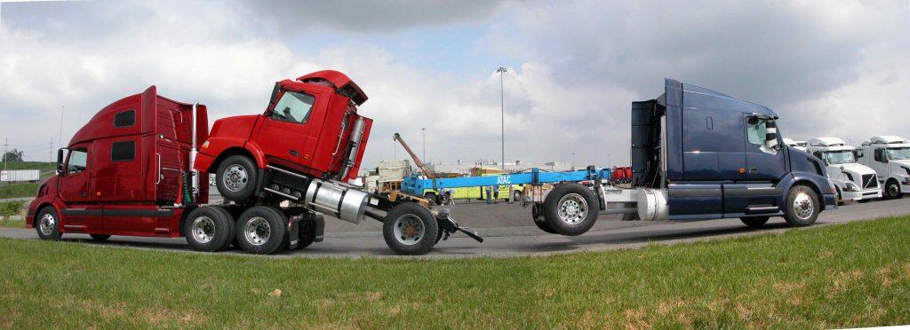 Truck Transporting