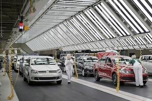 Volkswagen Group Rus Werk in Kaluga