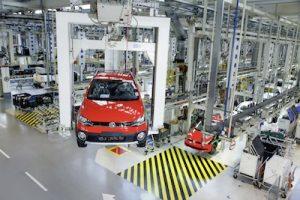 Volkswagen do Brasil Werk Anchieta Brasilien