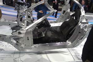 An-aluminium-chassis-for-a-2014-Chevrolet-Corvette-300x200