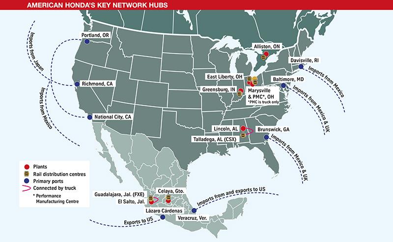 Honda-Key-Network-Hubs