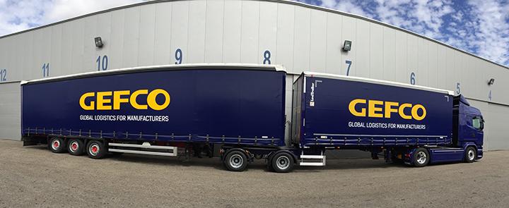 Gefco truck