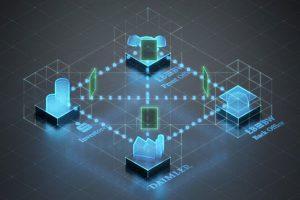 Simulation der Blockchain zur Begebung eines Schuldscheins; Thema: Daimler_LBBW_Blockchain_Schuldschein Simulation of the blockchain to issue the bond, topic: Daimler_LBBW_Blockchain_bond/Schuldschein