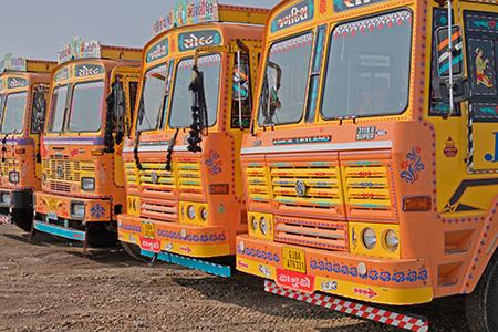India-truck